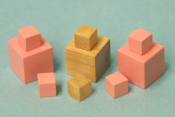 Pink Tower replacement pieces