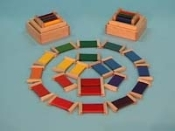 Color Wheel Box, Primary & Secondary Colors