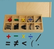 Movable Numeral Symbols, Elementary, Color