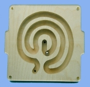 Marble Tray, Labyrinth, Simple Wisdom
