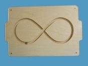 Marble Tray, Large Infinity